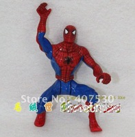 Retail Free shipping worth collection Spider-Man model dolls,action figure, children toys, Chritmas gift