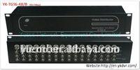(YK-TG16-48/B) 16 In 48 Out easy video splitter