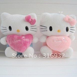 J1 New design Hello kitty plush toy doll ,45cm, 1pc