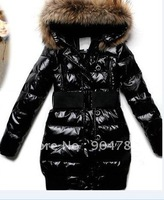 Women's long garments wear cotton Weskit gilet waistcoat Vests Vest down feather coats eiderdown Down Jackets lady jacket fur