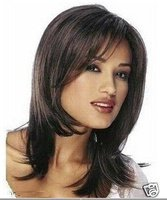 Natural Kanekalon costum Hair Wigs   hair no lace  Pretty women's full wig