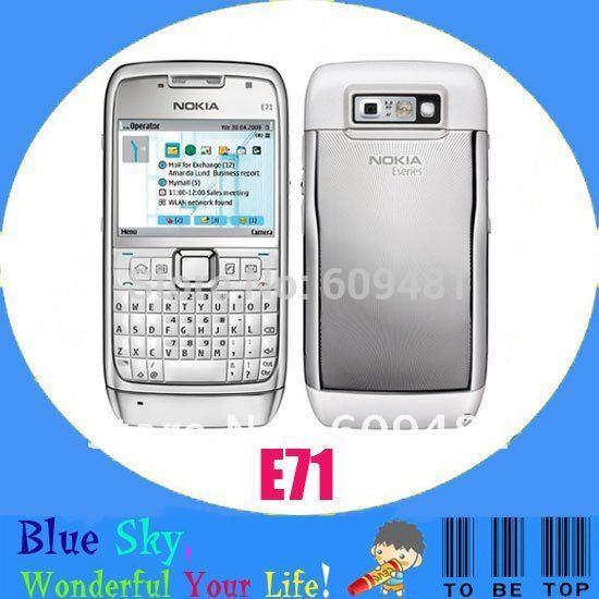 Swiss post free shipping E71 original cell phone(China (Mainland))