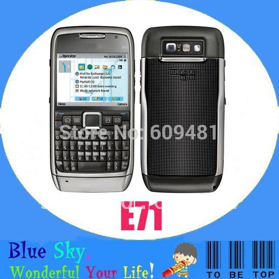 Swiss post free shipping Hot sale Nokia E71 phone(China (Mainland))