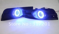 hot!!! Free shipping!!55W/35W 12V HID/Halogen Cruze fog lamp,CCFL Eyes,3000K,4300K,6000K,8000K,10000K, Optional ballast