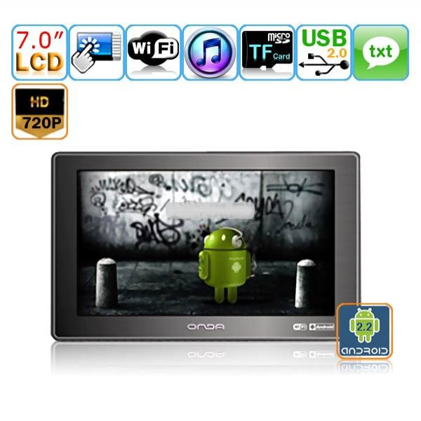 7 Inch Digital Touchscreen Car PC DVD Player with GPS TV WIFI/3G