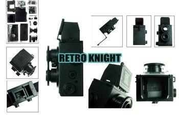 @@Retro Knight@@Free Shipping DIY 35mm Film Recesky Twin Lens Reflex Camera/Vo.1.25 LOMO camera