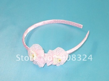 novel gifts 15pcs/lot free shipping wholesale fashion hairband  headband goody hair accessories with flower Hot Sell