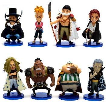 free shipping Japan anime One piece pvc figure set b0185