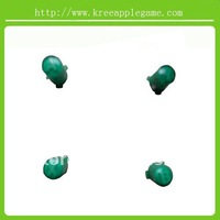 Green ABXY +guide buttons with letter on for Xbox360 wireless controller