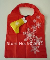 For Promotion~EMS Free Shipping 600pcs 3*Colors With Hook 38*58cm Novelty shopping bag market christmas giveamays