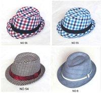 2012 Children Fedora Hats Fashion kid's Caps Fedora Hats Caps Hat boy's girl's Cap Mix order
