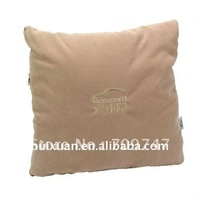 Type A square shaped mini air conditioner cushion blanket  throw pillow