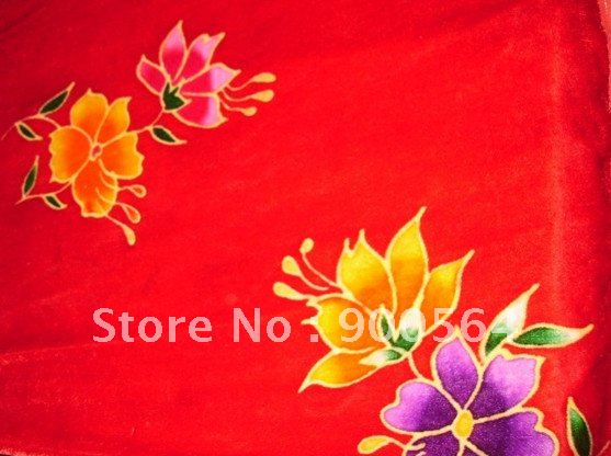 velour silk fabric +Customize your design fabric+5yards MOQ j0288+different silk choth + arbitrary drawing pattern(China (Mainland))