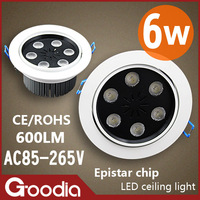 Потолочный светильник CREE 3*3W Residential Lighting Die-cast Down Light AC85~265V CE&ROHS Cool/Warm white 2 Years Warranty Goodia