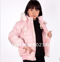 Free Shipping Hot children's winter  Fashion Long Sleeve Cotton coat/Thick coat children/children's wear