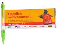 promotional banner pen, accept client logo printing !!