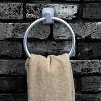 BF030  SAFEBET space aluminium sanitary hardware-towel ring 89308 Free shipping