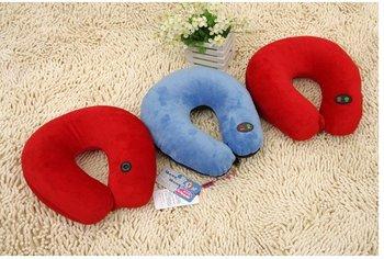 Free shipping(1pc)Super soft U shape Nap pillow/Massage pillow/Adjustable pillow