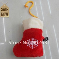 Best Buy~EMS Free Shipping 600pcs Red Color With Hook 38*58cm lovely christmas shopping bag promotion gifts products