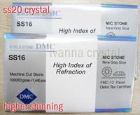 hot fix DMC rhinestone crystal ab rhinestone ss20 5mm