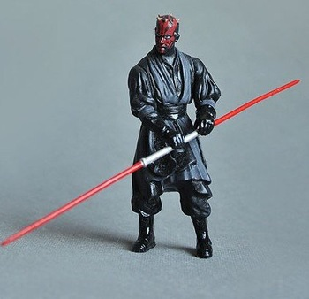 Free shipping Star Wars Darth Maul/pvc anime figure/hot toys/one piece figure/toys for children/Christmas gift/new year gift
