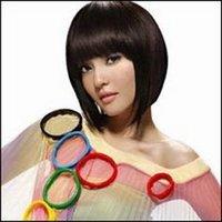 perruque courte BOB femme noire/women's wig