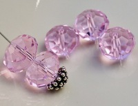 Free Shipping! Wholesale AAA Top Quality 8mm Crystal 5040 Rondelle Beads- pink colour 360pcs