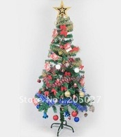 freeshipping wholesale artificial christmas tree 1.5m