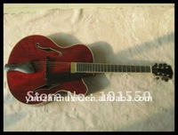 Wholsale Fully handmade Jazz guitar with solid wood.2012 hot sale.