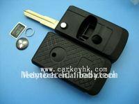 Mitsubishi key blank,flip modified remote car key shell& key cover&key case, car key