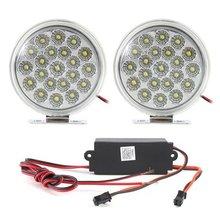 De alta potencia LED de conducción diurna Luz Estilo Ronda Circle 2389(China (Mainland))