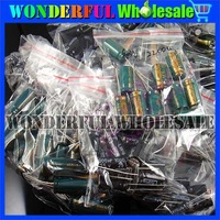 6.3V 10V 16V 25V Electrolytic capacitors computer motherboard Mixed 180pcs/sets