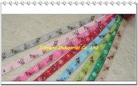 Hot Sell Merry Chritmas Ribbon 9 mm Christmas Bear Belt Free Shipping