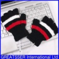 New USB 2.0 Heating Hands Warm Woolen Gloves #A01