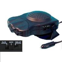 12 VOLT 150W auxiliary heater  fan /defrost windshields  HAND CAR FAN HEATER CARAVAN DEMISTER DEICER Ceramic Car Heater/Cooler