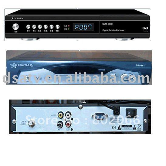 FTA dvb-s satellite receiver set top box with BISS(China (Mainland))
