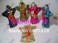 New WINE BOTTLE COVERS 50 PCS CHINESE SILK Gift HOT