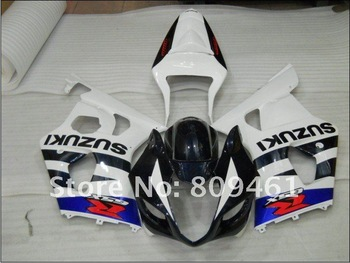 ABS Motorcycle Fairings kit For SUZUKI GSXR1000  03-04 2003 2004