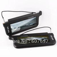 "L/R 1x10.2"" Sun Visor Monitor LCD TFT TV DVD GPS SCREEN"