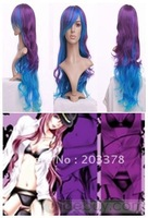 Vocaloid Megurine Luka Sexy Wavy Cosplay Wig Free Shipping 5pcs/lot mix order