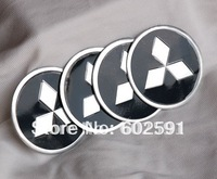 4pcs Set C230 MITSUBISHI Emblem Sticker Wheel Hub Caps 56mm  LANCER PAJERO OUTLANDER ASX Galant  Eclipse Spyder