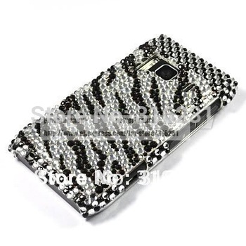 Bling Rhinestone diamond Crystal Case Cover For Nokia N8+Free Screen Protector