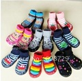 100% cotton MARY JEAN non-slip baby shoes socks breathable eco-friendly sweat-absorbent kids animal socks