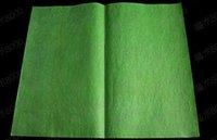 50pcs/lot-50*20CM,magic trick toy green flash paper/flash paper/magic toys magic