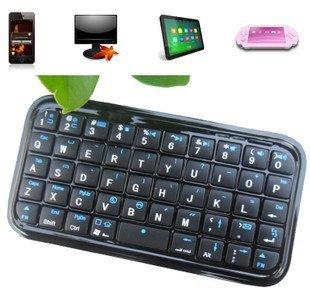Ultra Slim Mini Wireless Bluetooth Keyboard For iPad/iPhone 4s OS PS3 PDA