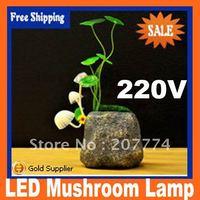 Led christmas light LED Mushroom Lamp Avata Resin Light Novel Toy Gift Fast Shipping