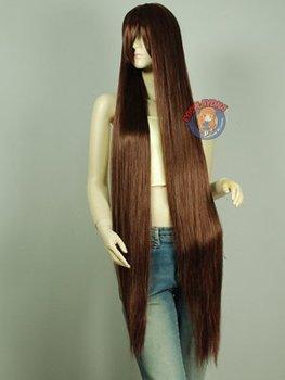 Wonderful 150cm, noblest long straight shindig hair Animation wig
