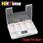 1pcs/lot Portable Digital Pill Tablet Medicine Box Alarm 4 Modes  [5404|01|01](China (Mainland))