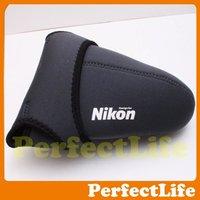 Hot sale Neoprene Protector Camera Soft Cover Case Bag nikon DSLR size(L)