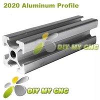 5pcs *1meter 2020 Aluminum Profile 20*20 Aluminum Extrusion